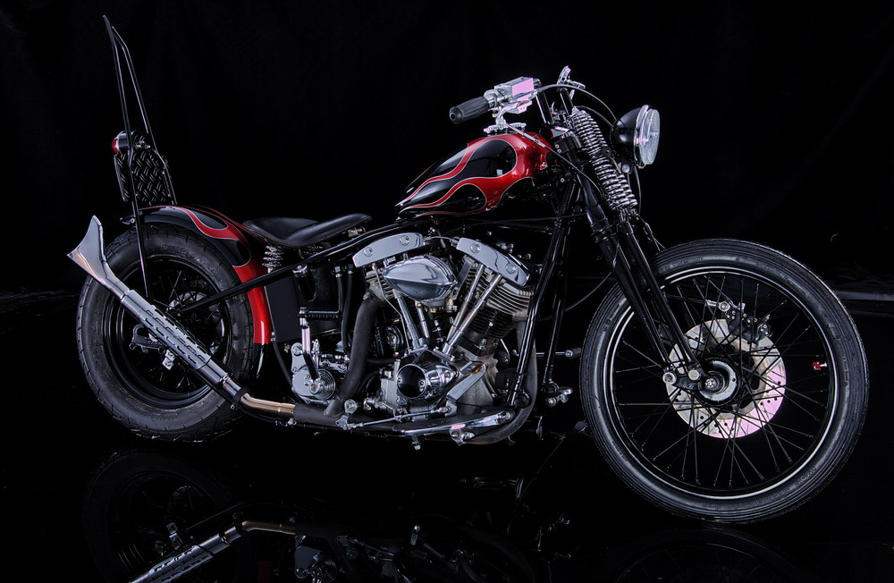 Harley Old Style...