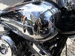 Harley - perfekt als Spiegel