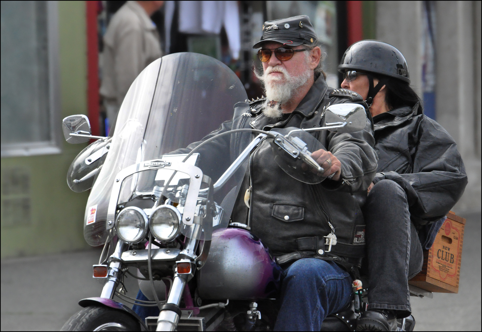 """Harley Riding with """"New Club"""""""