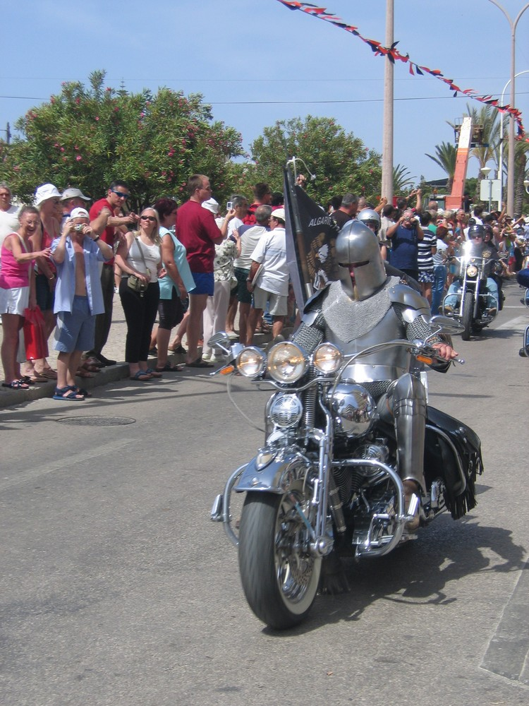Harley-Treffen in Monte Gordo (Portugal)