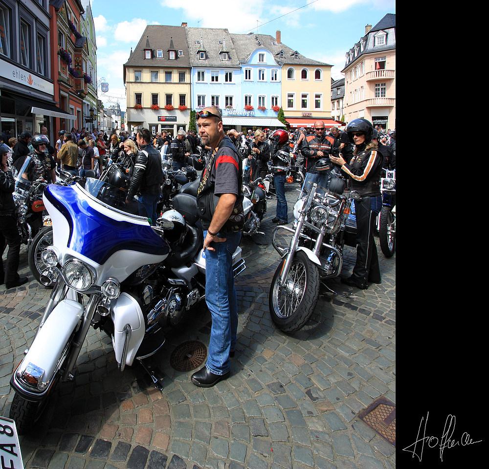 Harley und Wein 2008 / Ürzig - Mosel [01]