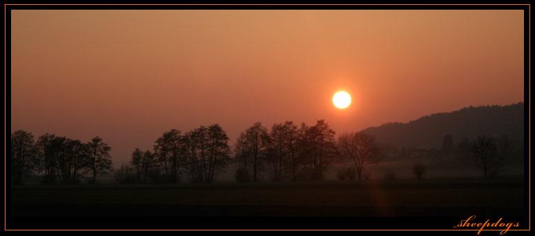 Harmonischer Sonnenuntergang