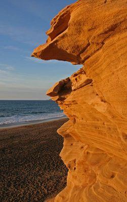 ... harter Sand ...