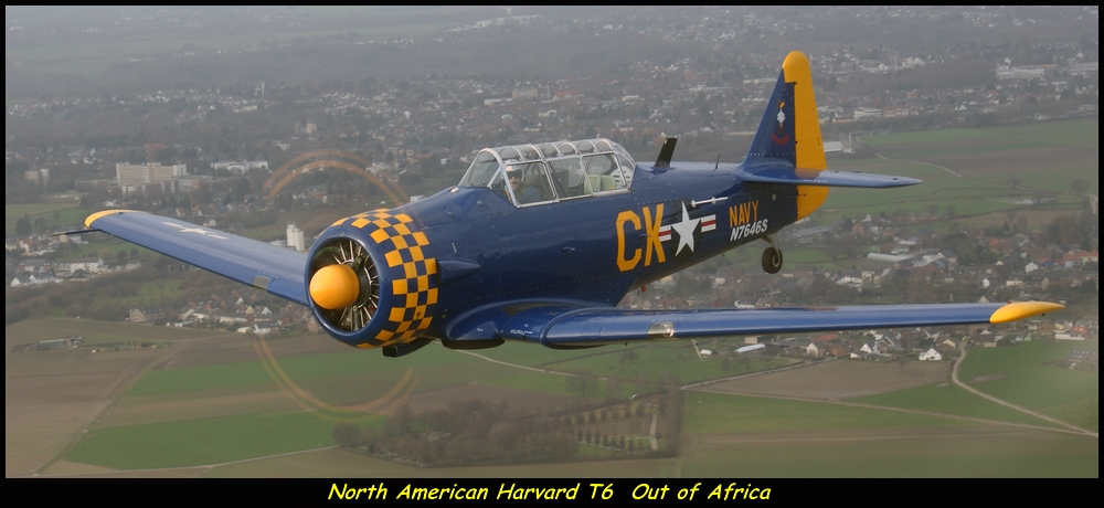 Harvard T6 Out of Africa