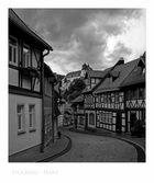 """Harz- Impressionen """" Stolberg, der Blick zum Schloss """""""