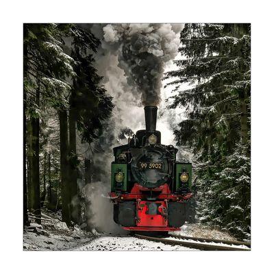"""Harzimpressionen """" Auf den Spuren der Harzer Schmalspurbahn ......"""""""