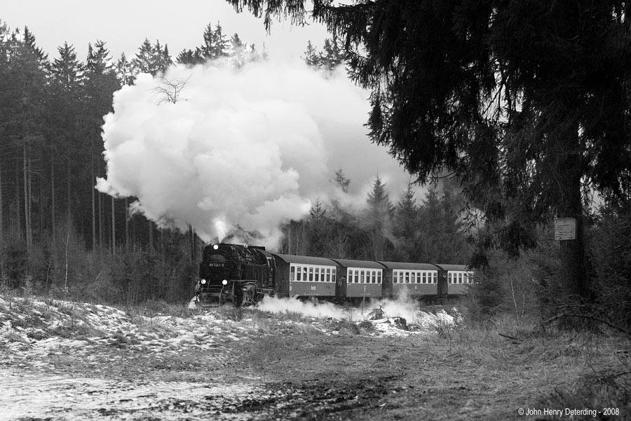 Harzquerbahn, bei Benneckenstein