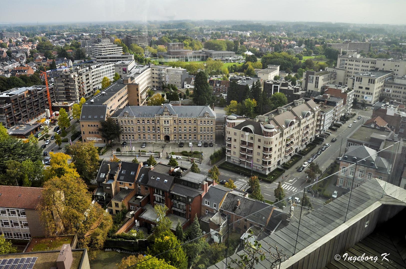 Hasselt - Blick auf die Stadt -2