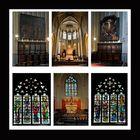 Hasselt - St. Quintinius-Kathedrale - Hauptaltar, Seitenaltar, Kirchenfenster