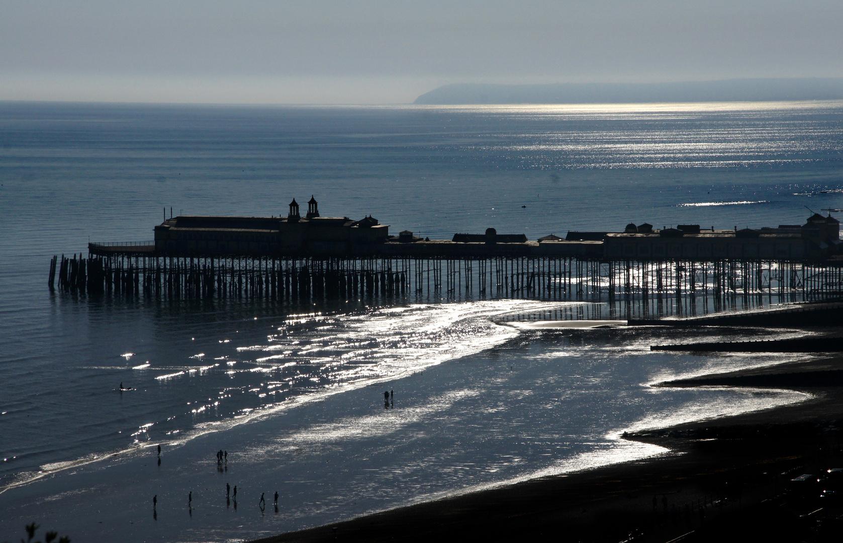 Hastings Pier (vor dem Brand)