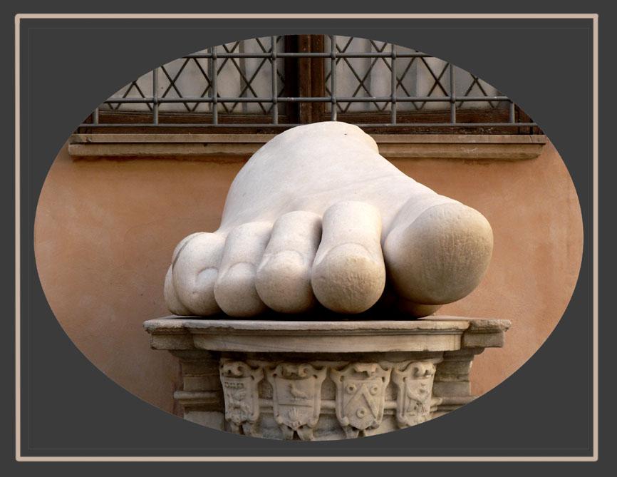 Hatten die Römer wirklich so große Füße ?