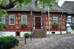 Hattenheim - Burggraben - Hotel Zum Krug - Ostseite