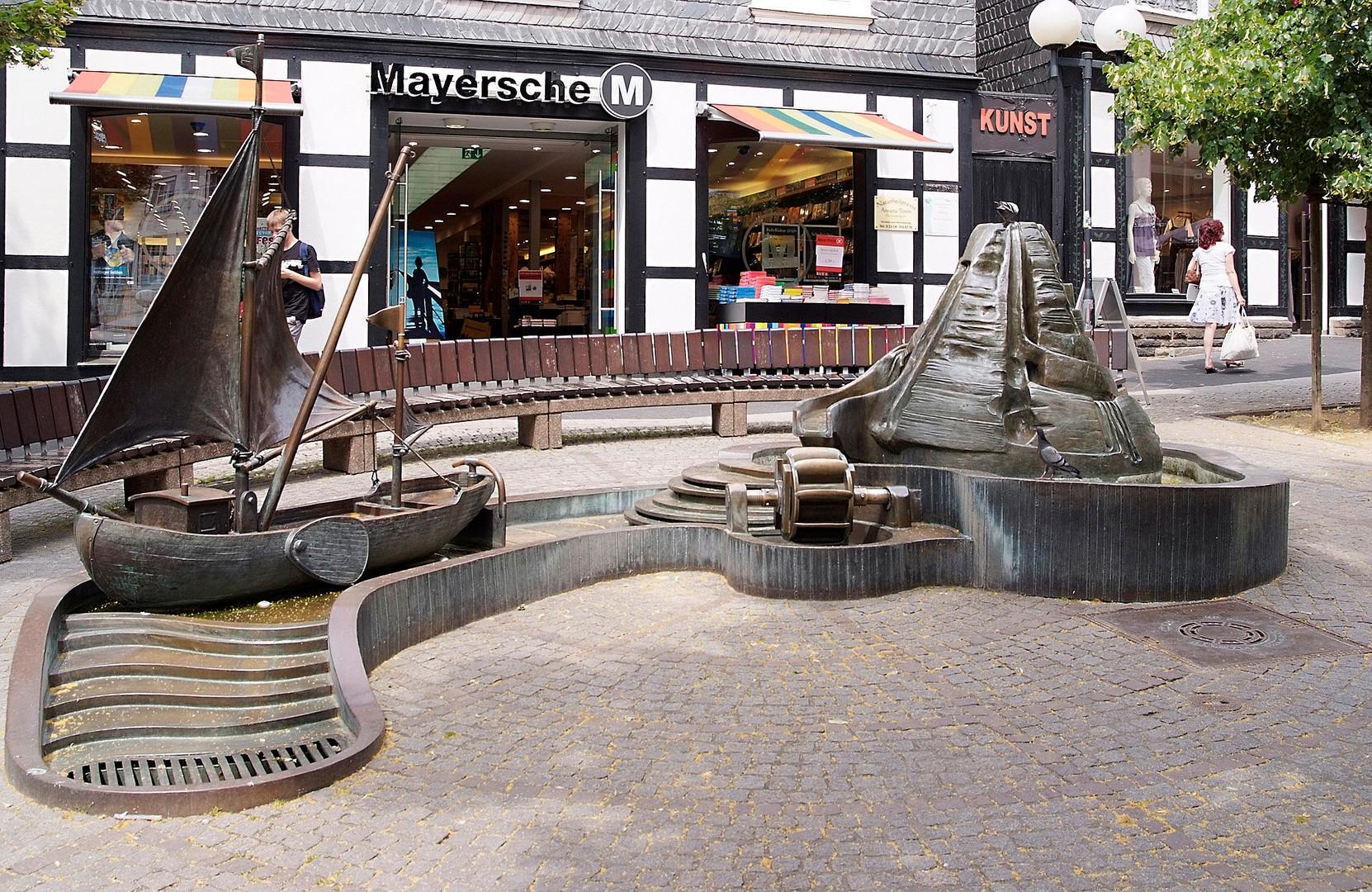 Hattingen - Kunst - Brunnen