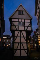 Hattingen-Westfalen: Bügeleisen-     Haus