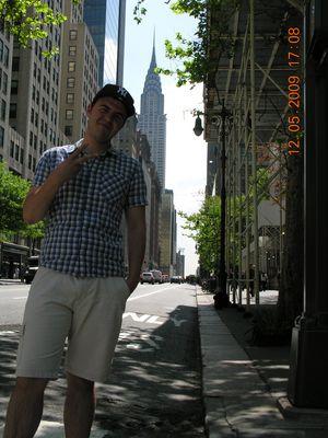 Hauke in New York 2009