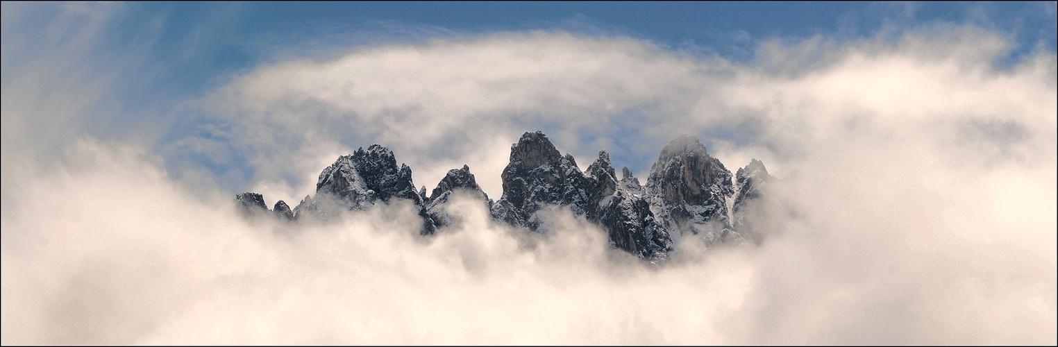 Haunold im Wolkenloch