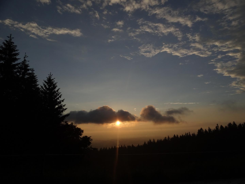 Haunsberg sunset
