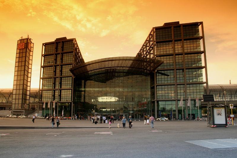 Hauptbahnhof in Berlin (21.08.2007)