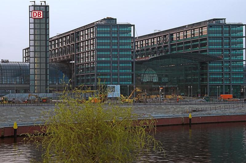 Hauptbahnhof-Lehrter Bahnhof, Südseite