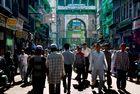 Hauptbasarstrasse in Ajmer