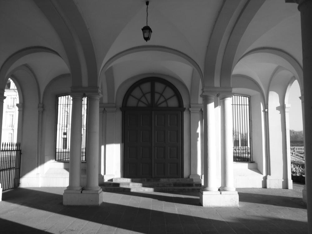Haupteingang Schloss Augustusburg
