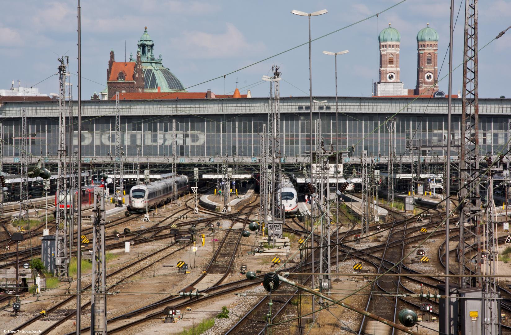 Haupthalle des Münchner Hauptbahnhofs