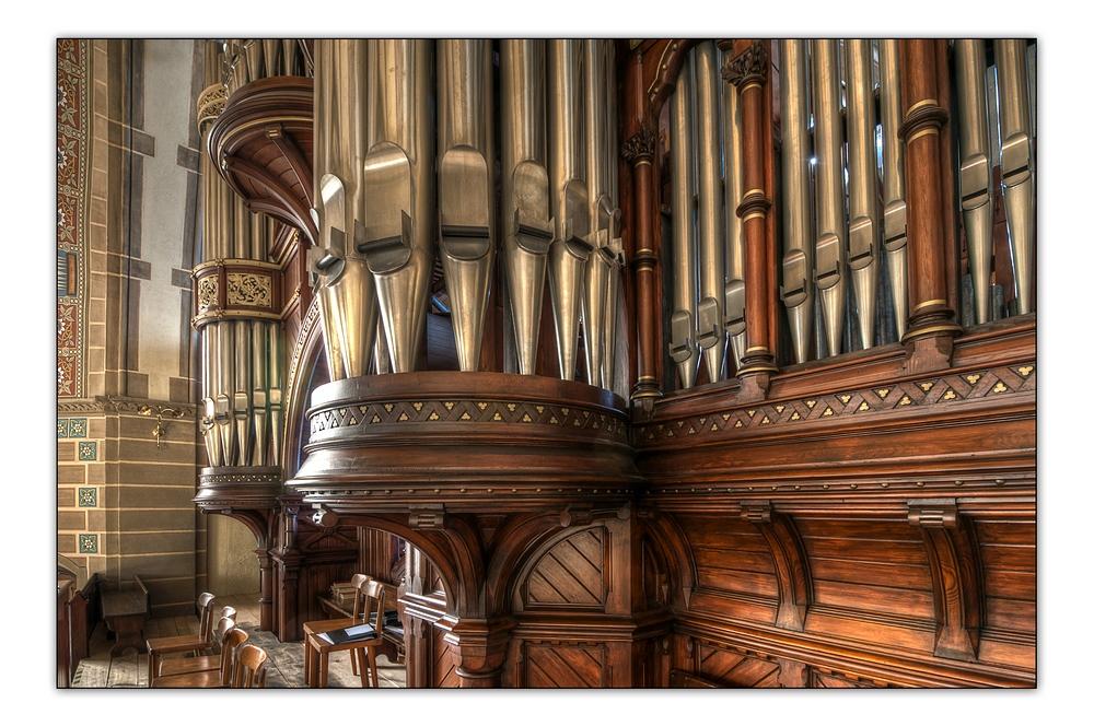 Hauptkirche 5 - Orgeldetail