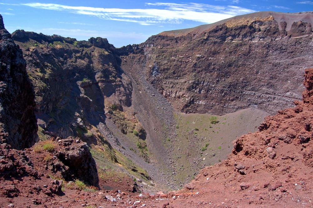 Hauptkrater des Vesuvs