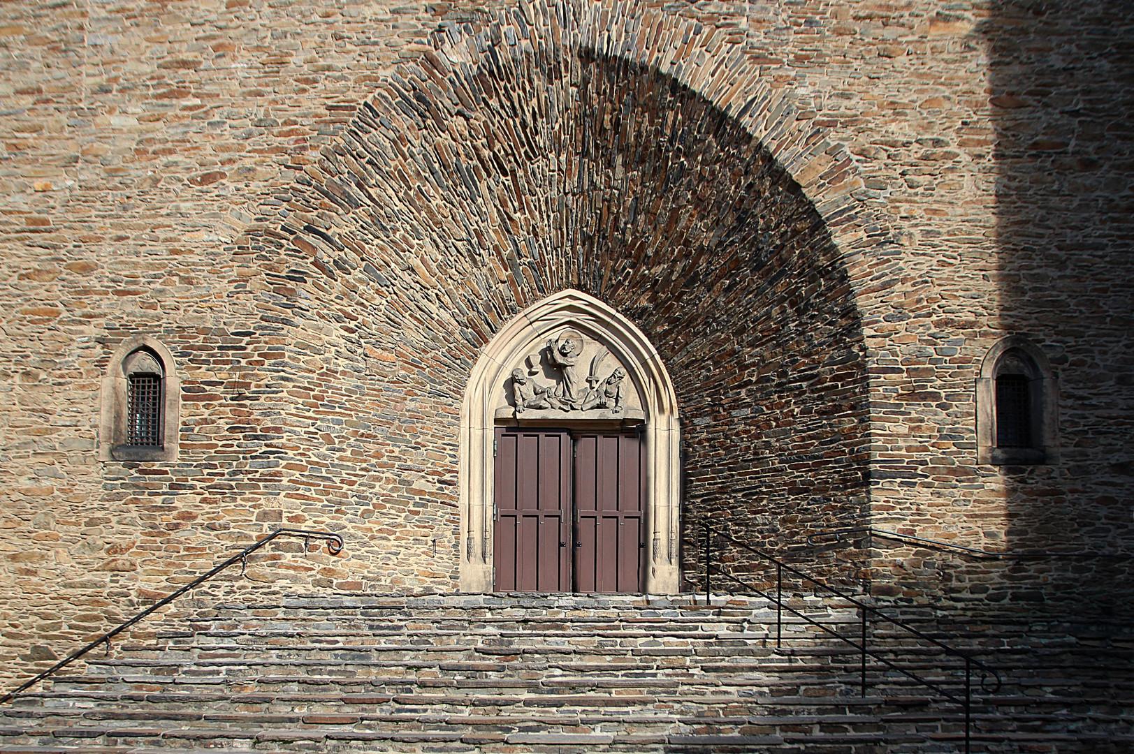 Hauptportal der Annenkirche in Annaberg- Buchholz