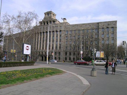 Hauptpost in Belgrad