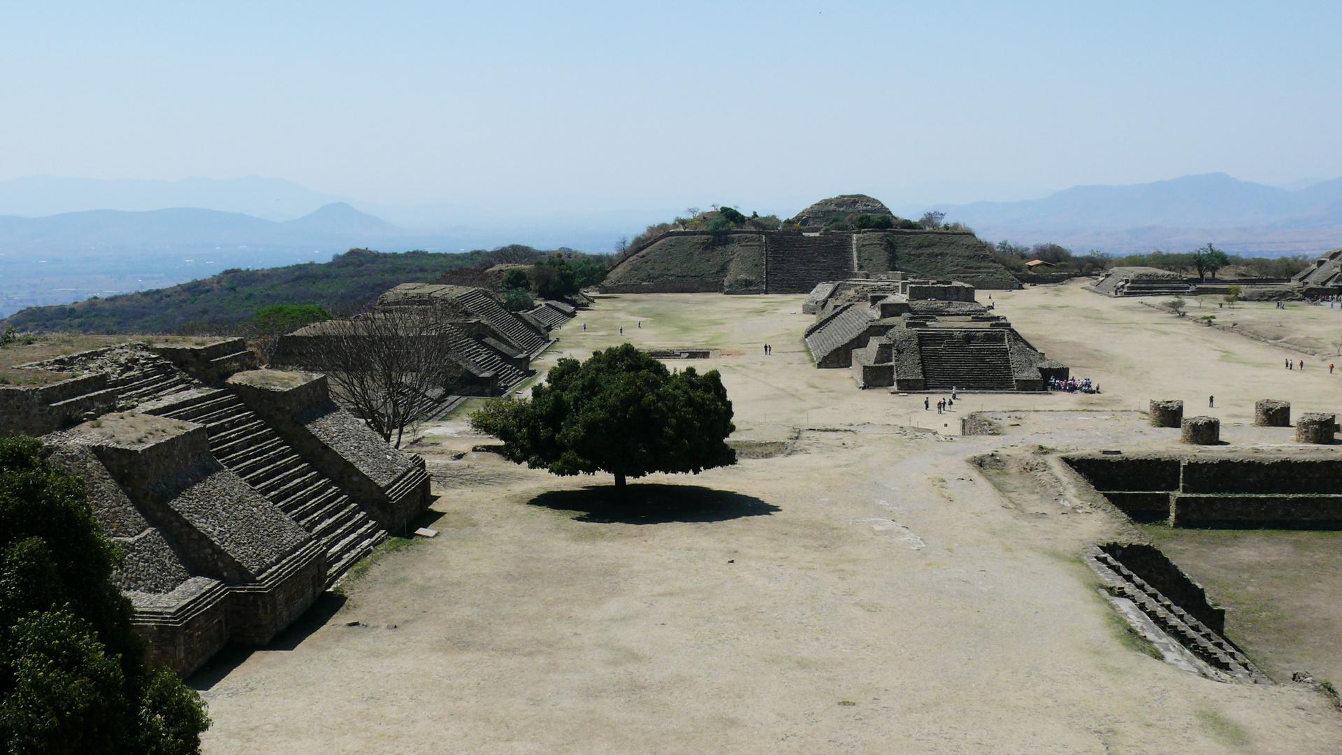 Hauptstadt der Zapoteken, Monte Alban