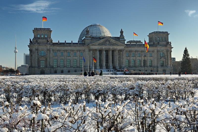 Hauptstadt-Winter