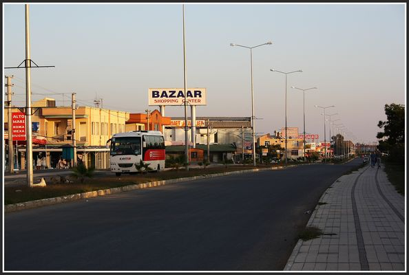 Hauptstraße von Kizilagac
