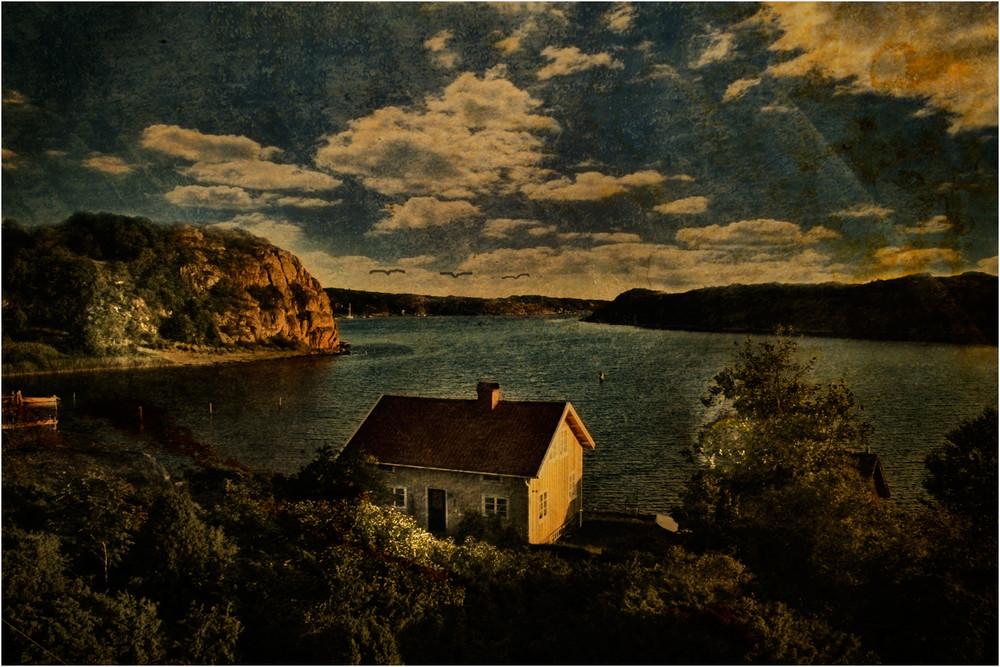 haus am meer schweden s westk ste foto bild. Black Bedroom Furniture Sets. Home Design Ideas