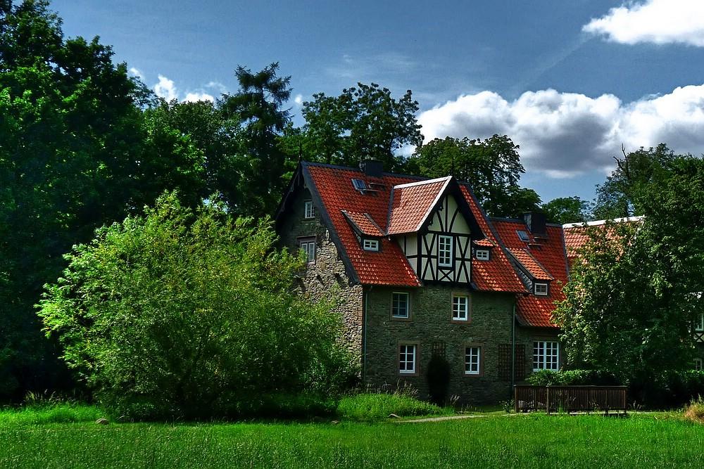 haus am wald foto bild deutschland europe sachsen anhalt bilder auf fotocommunity. Black Bedroom Furniture Sets. Home Design Ideas