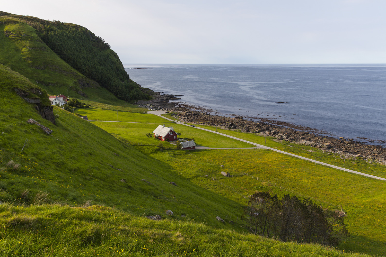 Haus an der Küste