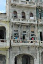 Haus auf dem Malecon in Havanna