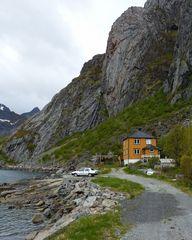 Haus auf den Lofoten