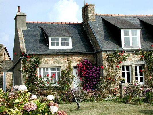 Haus auf der Ile de Brehat
