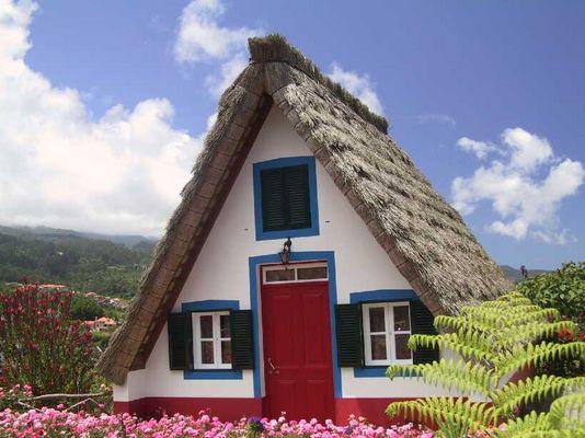 Haus auf Madeira