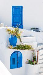 Haus auf Santorin