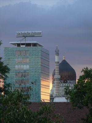 Haus der Presse + Yenidze in Dresden