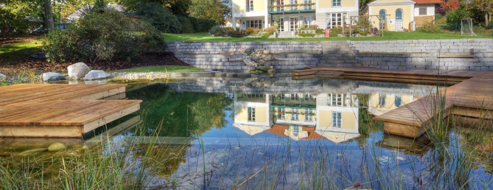 Haus im Teich