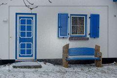 Haus im Winter / Vitte Insel Hiddensee