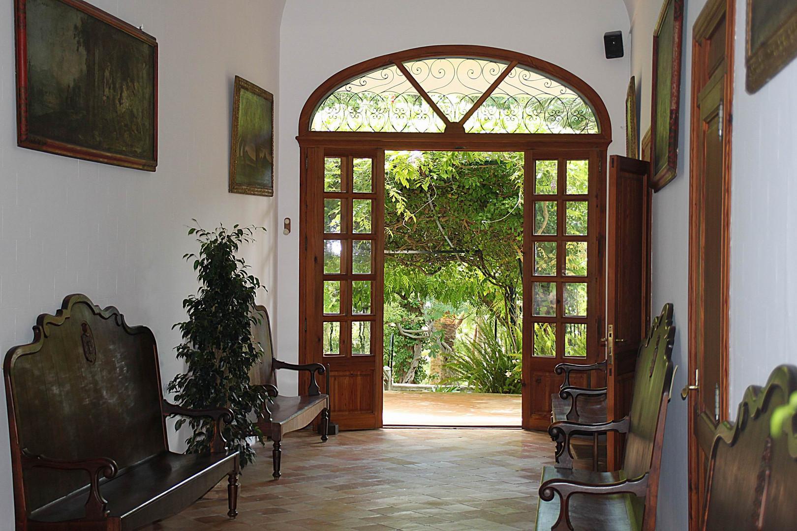 Haus in den arabischen Gärten von Alfàbia (Jardins d´Alfàbia)