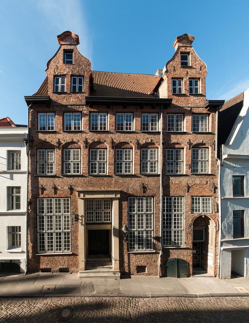 Haus in der Lübecker Altstadt - ein Portrait
