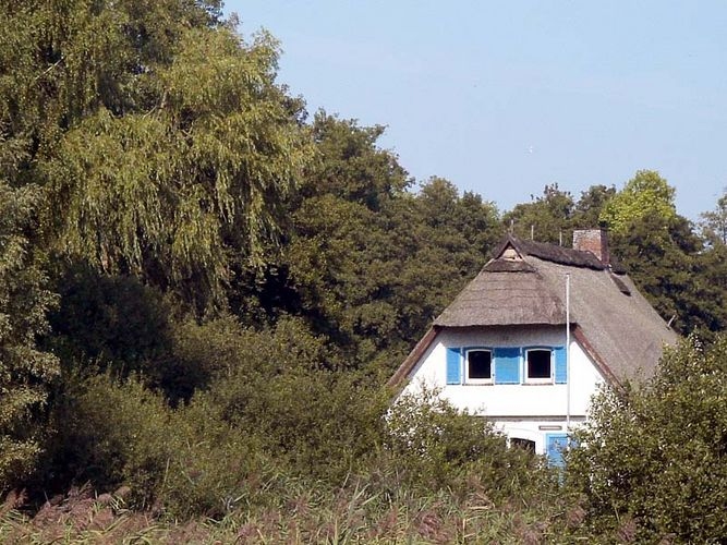 Haus in Farbe