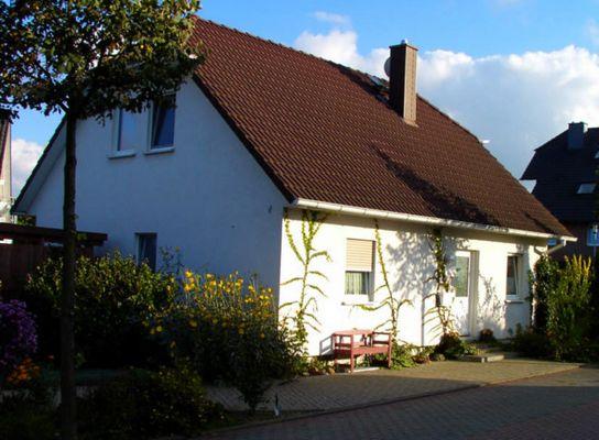 Haus in Herbststimmung