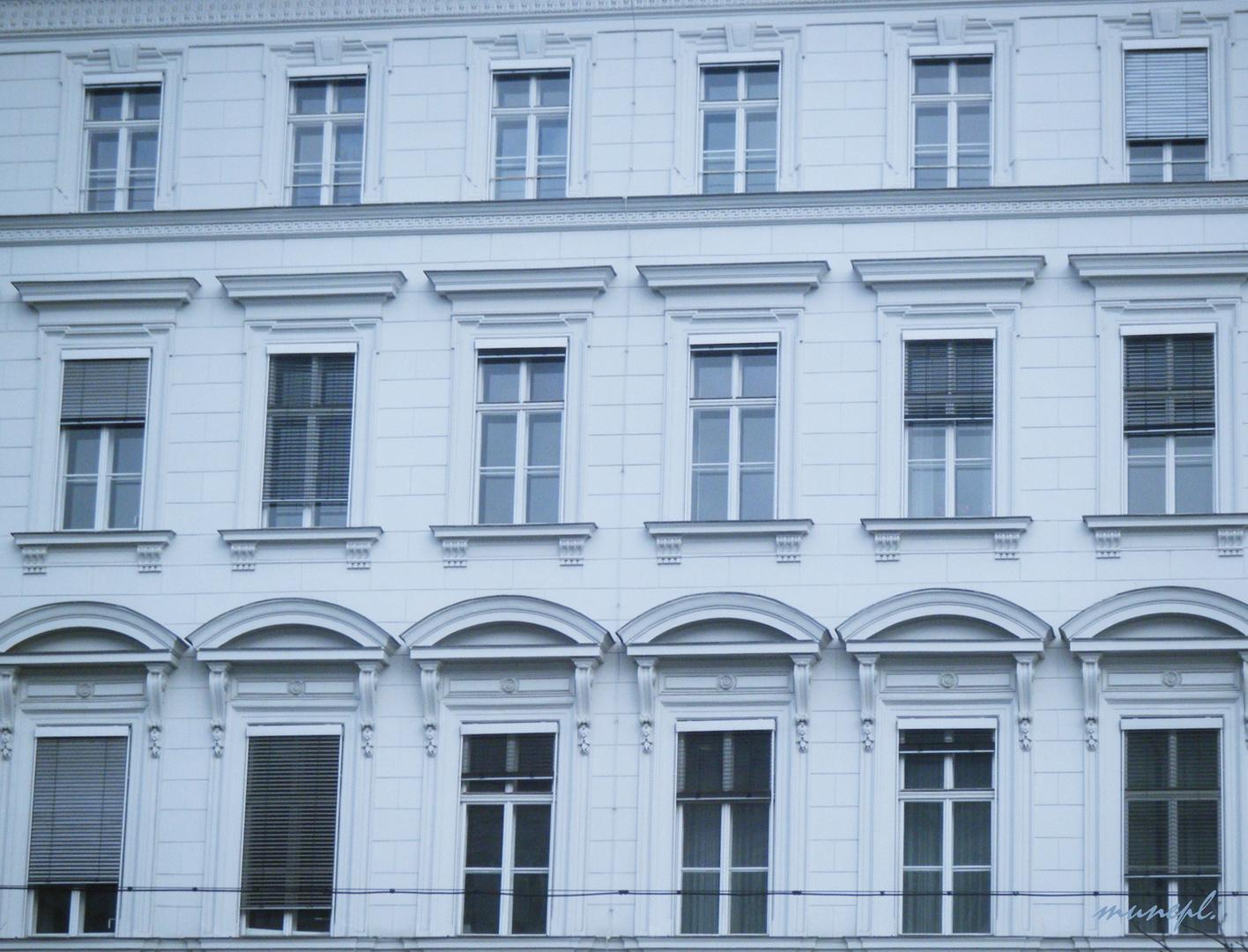 Haus in Wien.