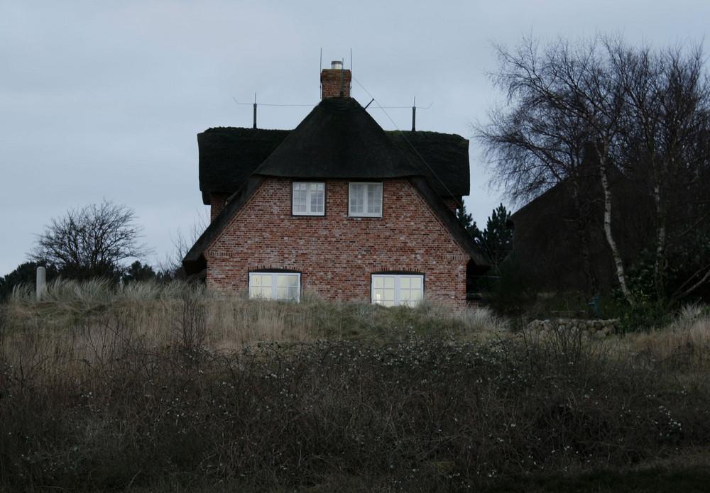 Haus mit Gesicht